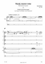Nû loben wir die süezen maget Op. 109a
