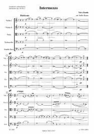 Intermezzo (Op. 16b No 2) arr. Sulho Ranta
