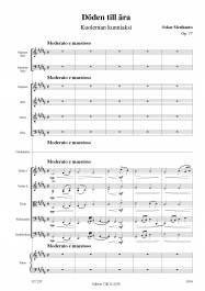 Döden till ära (Kuoleman kunniaksi) Op. 77