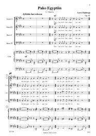 Pako Egyptiin Op. 61