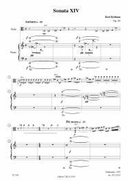 Sonata XIV Op. 69